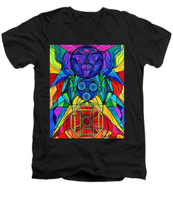 Arcturian Conjunction Grid - Men's V-Neck T-Shirt