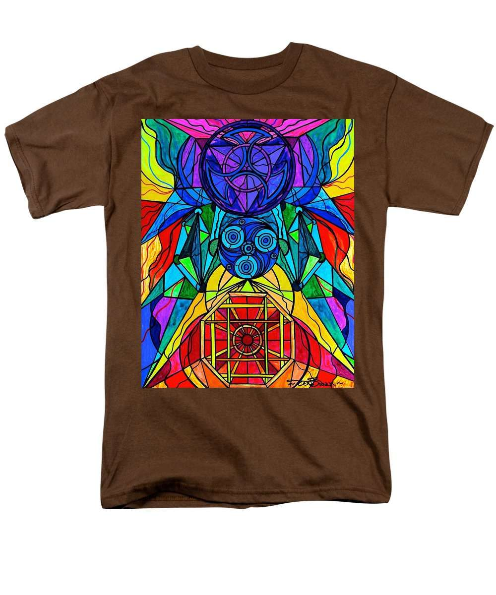 Arcturian Conjunction Grid - Men's T-Shirt  (Regular Fit)