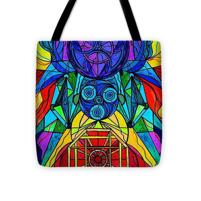 Arcturian Conjunction Grid - Tote Bag
