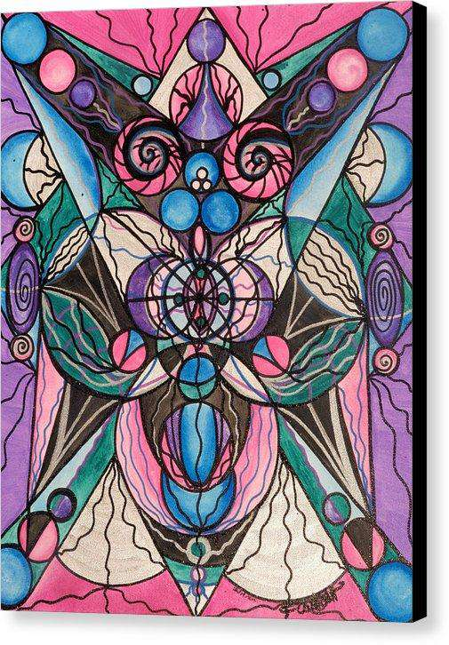Arcturian Healing Lattice  - Canvas Print