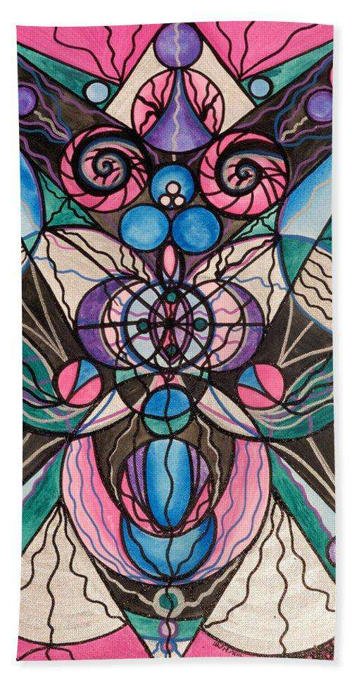 Arcturian Healing Lattice  - Beach Towel