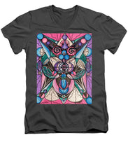 Load image into Gallery viewer, Arcturian Healing Lattice  - Men's V-Neck T-Shirt