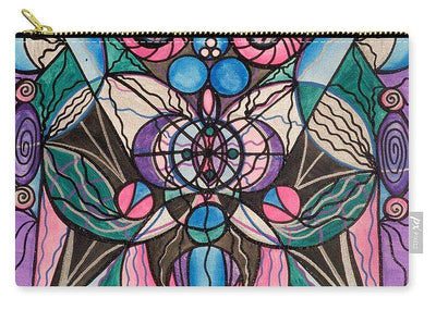 Arcturian Healing Lattice  - Carry-All Pouch