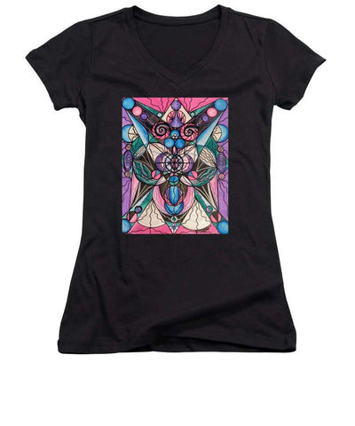 Arcturian Healing Lattice  - Women's V-Neck