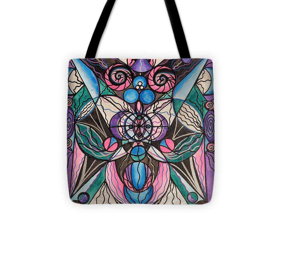 Arcturian Healing Lattice  - Tote Bag
