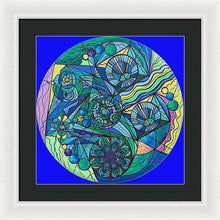 Load image into Gallery viewer, Arcturian Immunity Grid - Framed Print