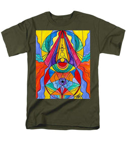 Arcturian Insight Grid  - Men's T-Shirt  (Regular Fit)
