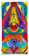 Arcturian Insight Grid  - Bath Towel