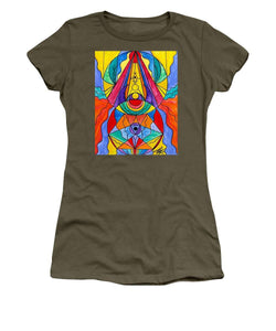 Arcturian Insight Grid  - Women's T-Shirt