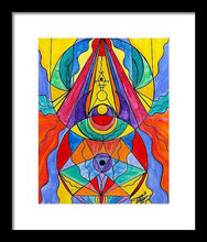 Load image into Gallery viewer, Arcturian Insight Grid  - Framed Print