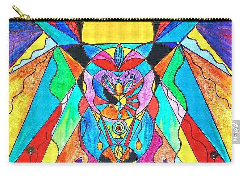 Arcturian Metamorphosis Grid  - Carry-All Pouch