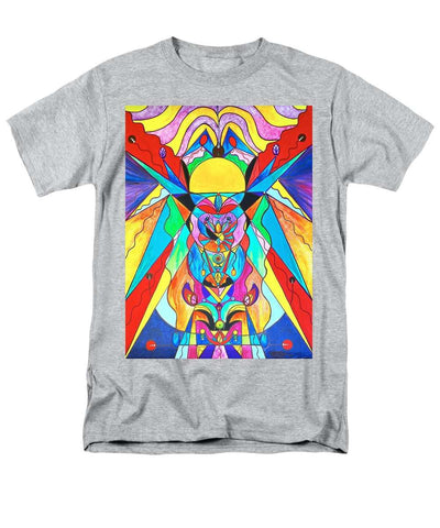 Arcturian Metamorphosis Grid  - Men's T-Shirt  (Regular Fit)