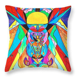 Arcturian Metamorphosis Grid  - Throw Pillow