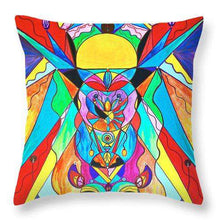 Load image into Gallery viewer, Arcturian Metamorphosis Grid  - Throw Pillow