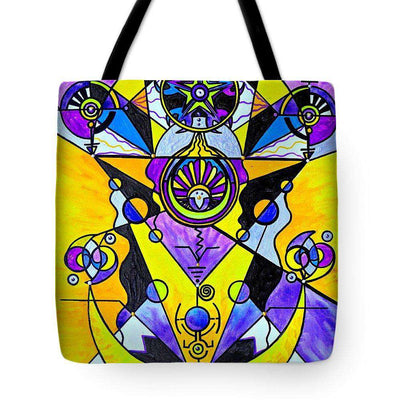 Arcturian Personal Truth Grid - Tote Bag