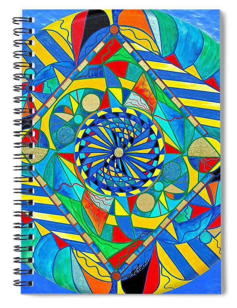 Ascended Reunion - Spiral Notebook