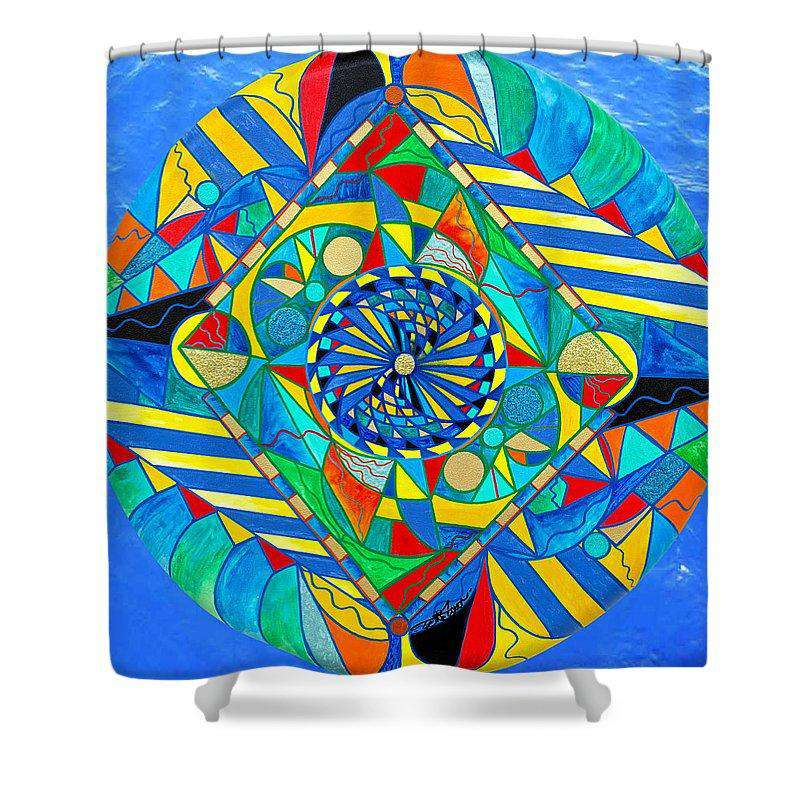 Ascended Reunion - Shower Curtain