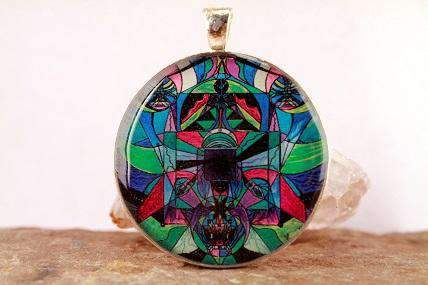 Arcturian Astral Travel Grid Pendant