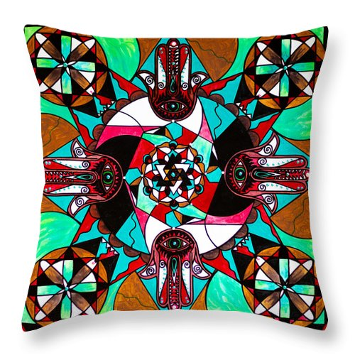 Aura Shield - Throw Pillow