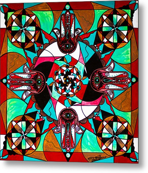 Aura Shield - Metal Print