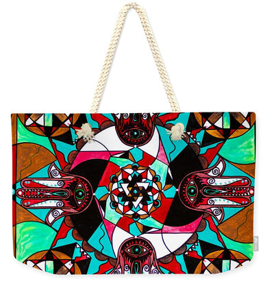 Aura Shield - Weekender Tote Bag