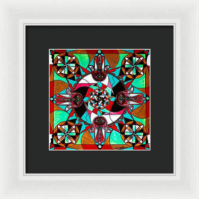 Aura Shield - Framed Print