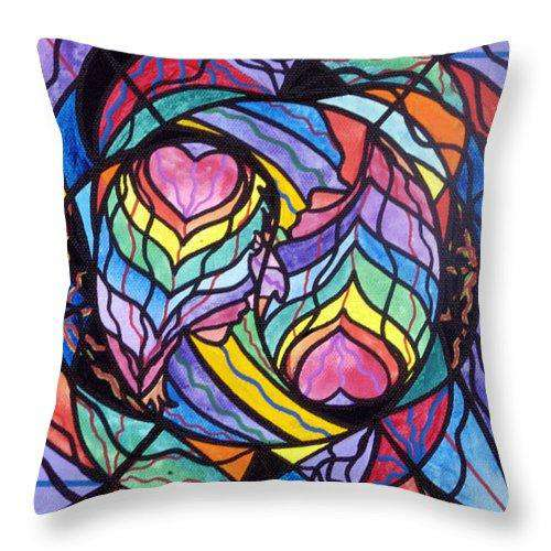 Authentic Relationship - Throw Pillow