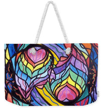 Load image into Gallery viewer, Authentic Relationship - Weekender Tote Bag