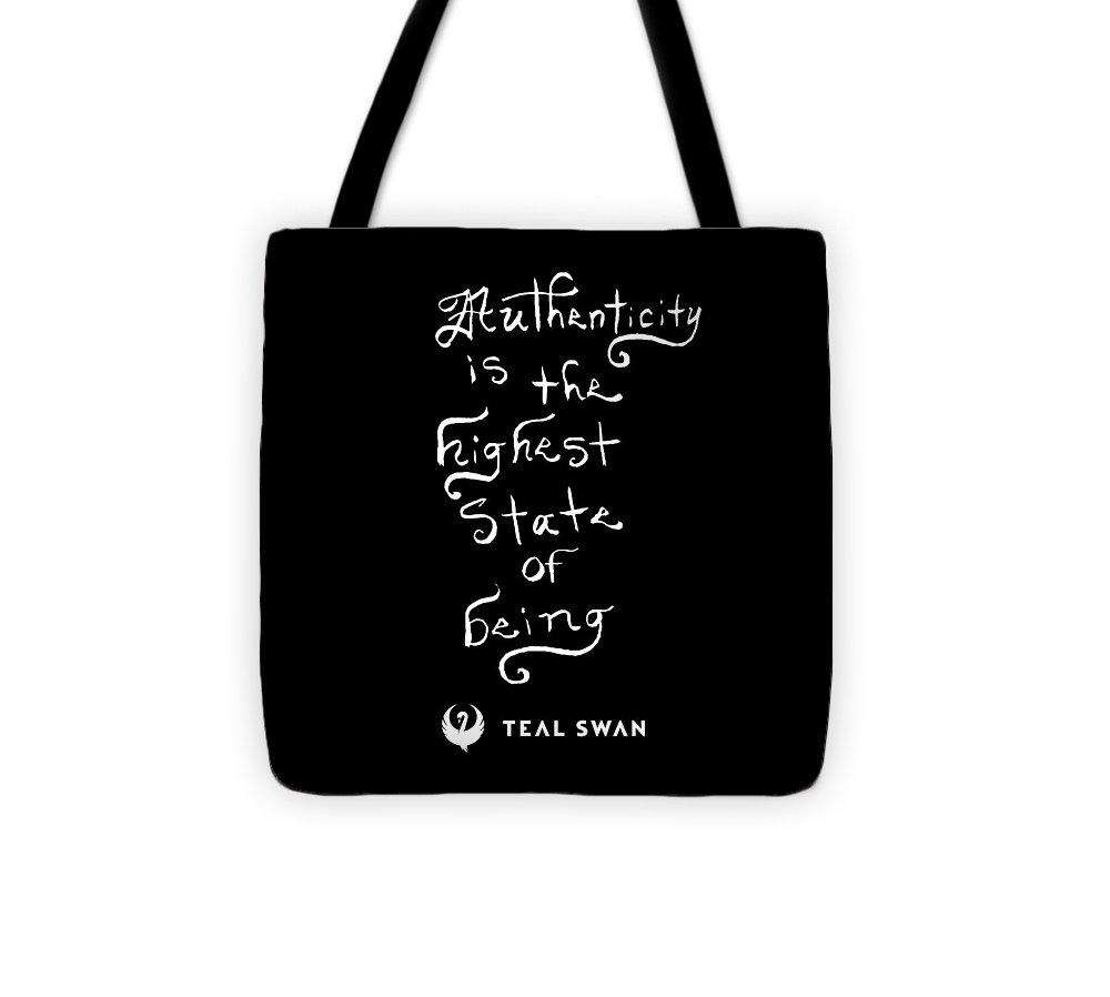 Authenticity Is Quote - Tote Bag