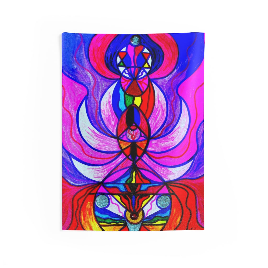 Divine Feminine Activation Indoor Wall Tapestries