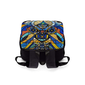 Sirian Solar Invocation Seal - Unisex Casual Shoulder Backpack