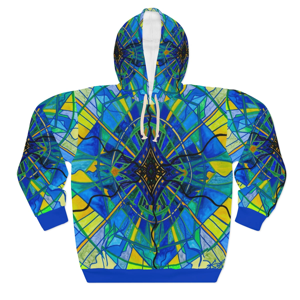 Emotional Expression - AOP Unisex Pullover Hoodie