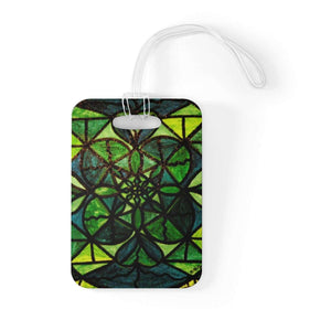 Green - Bag Tag