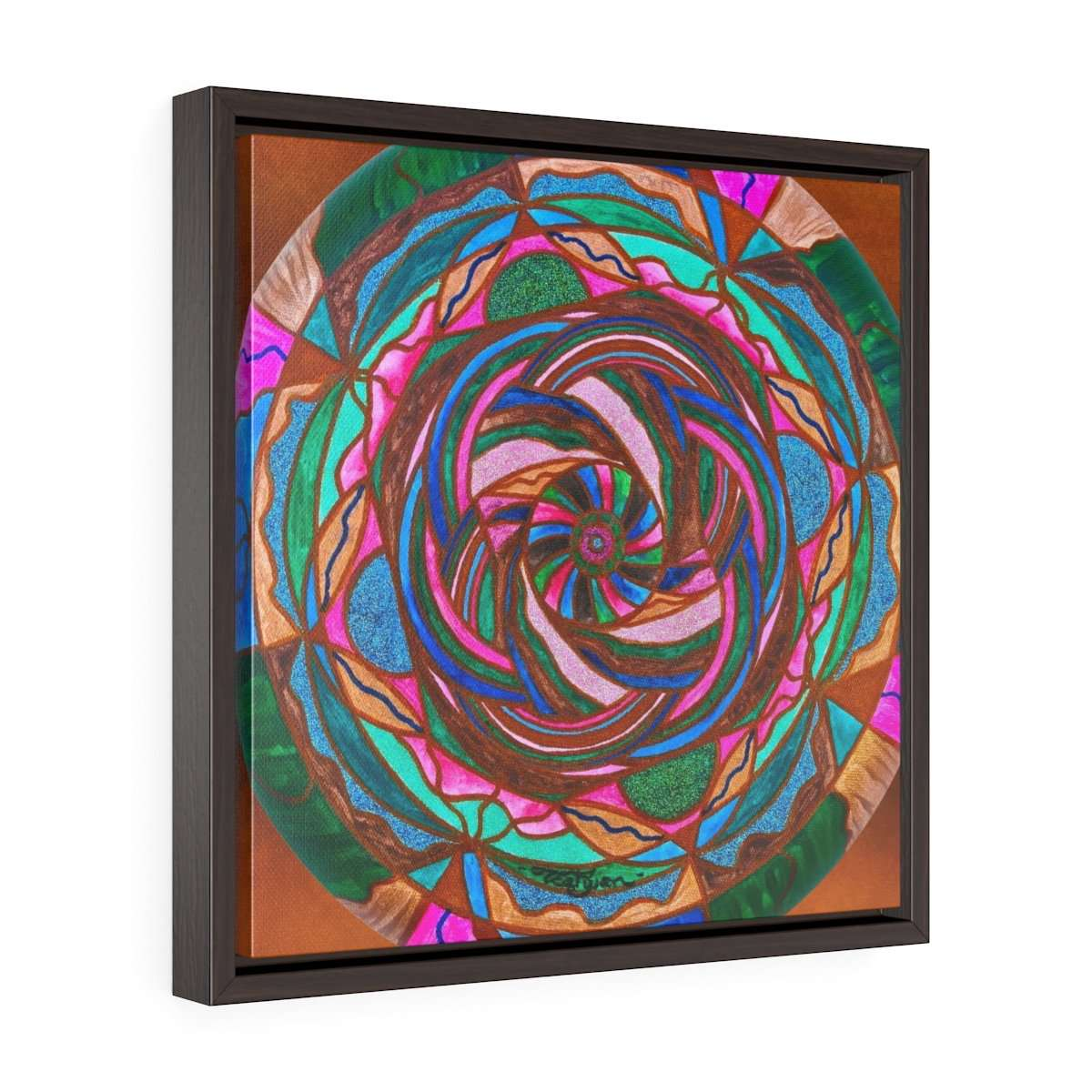 Comfort --Square Framed Premium Gallery Wrap Canvas