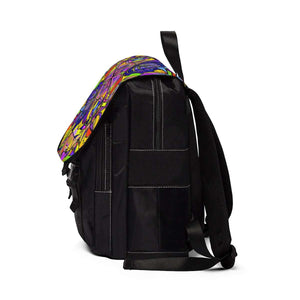 Breaking Through Barriers - Unisex Casual Shoulder Backpack