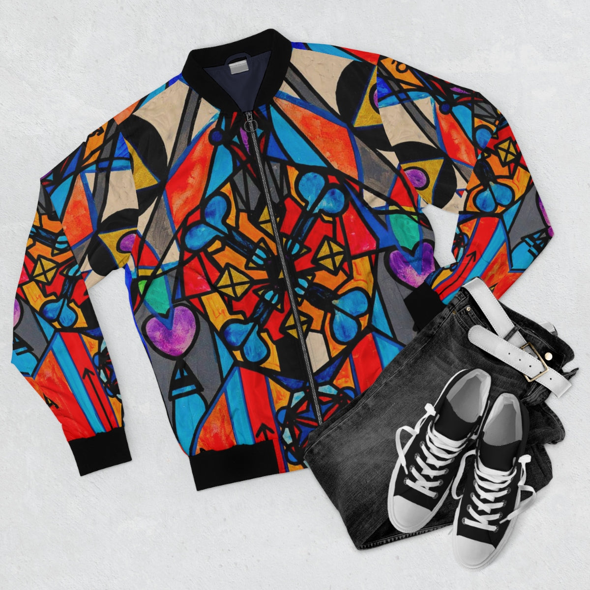 Divine Masculine Activation - Bomber Jacket