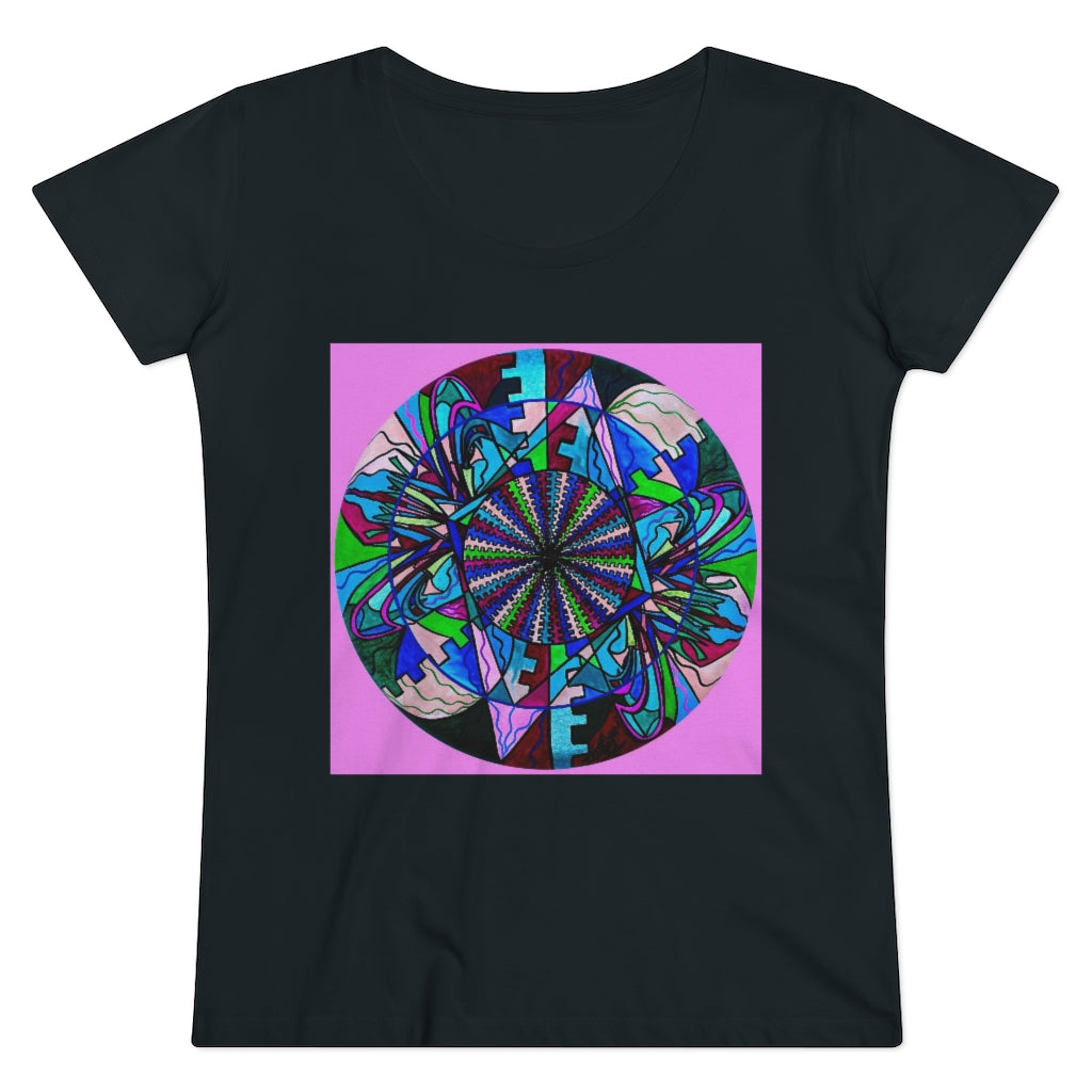 Pleiadian Lightwork Integration Model - Organic Women's Lover T-shirt