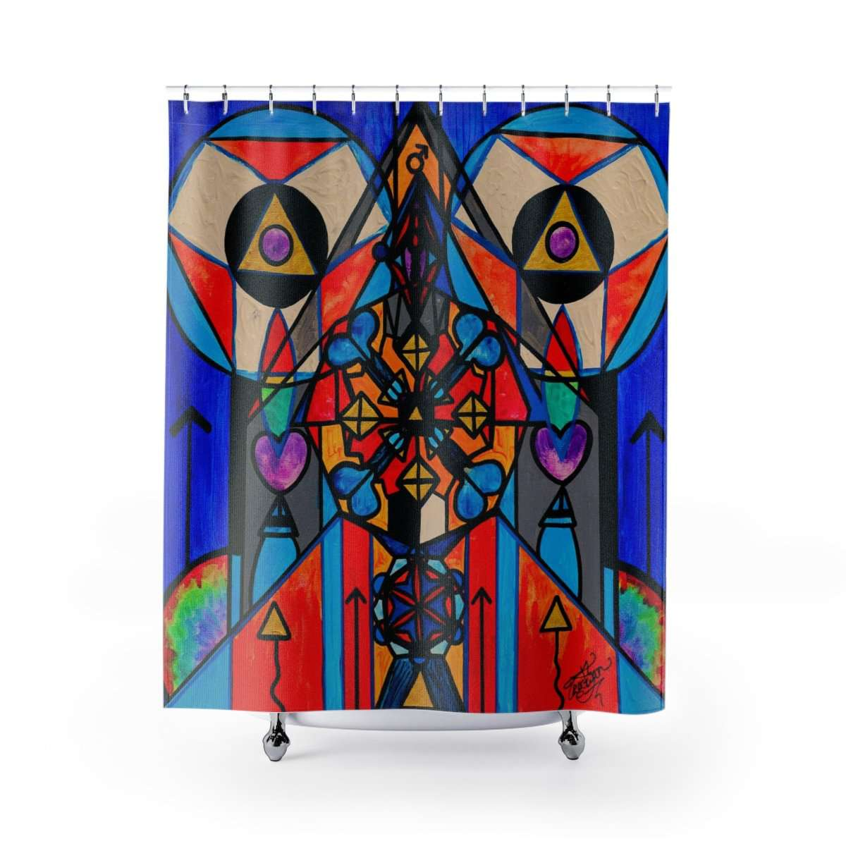 Divine Masculine Activation - Shower Curtains
