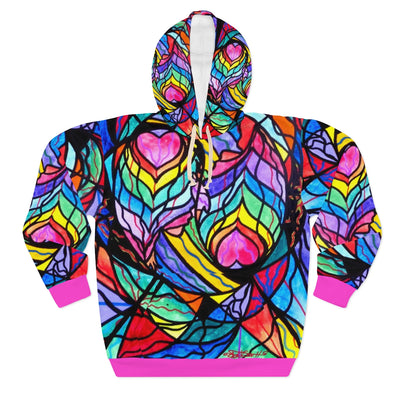 Authentic Relationship - AOP Unisex Pullover Hoodie