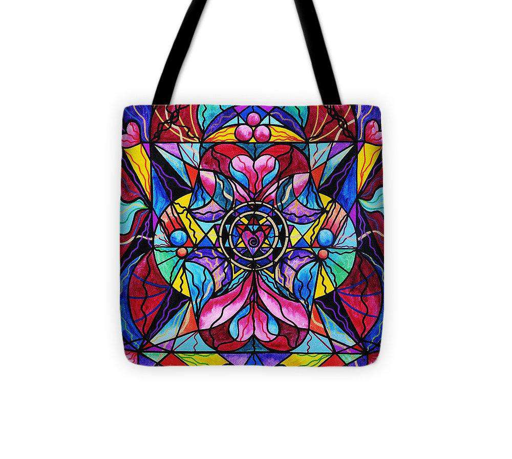 Blue Ray Healing - Tote Bag