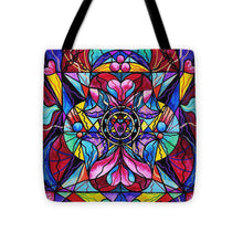 Load image into Gallery viewer, Blue Ray Healing - Tote Bag