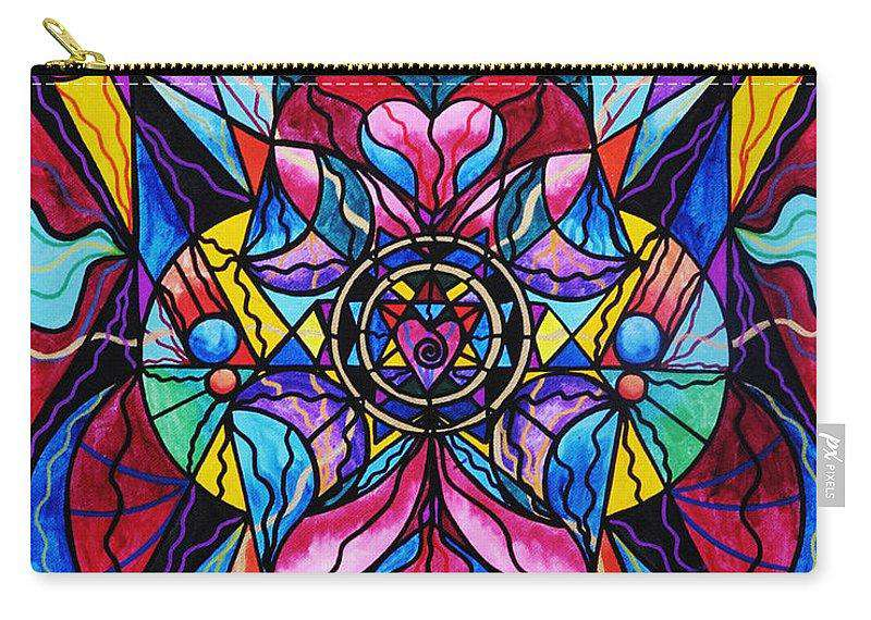 Blue Ray Self Love Grid - Carry-All Pouch