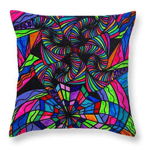 Burgeon - Throw Pillow