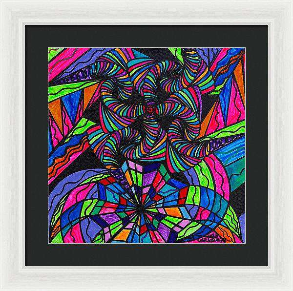 Burgeon - Framed Print