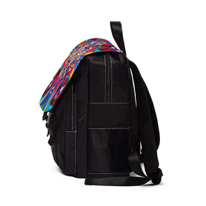 Origin of the Soul - Unisex Casual Shoulder Backpack