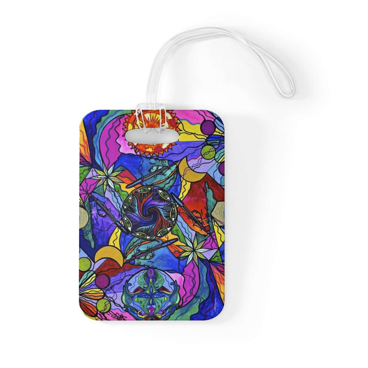 Awakened Poet - Bag Tag