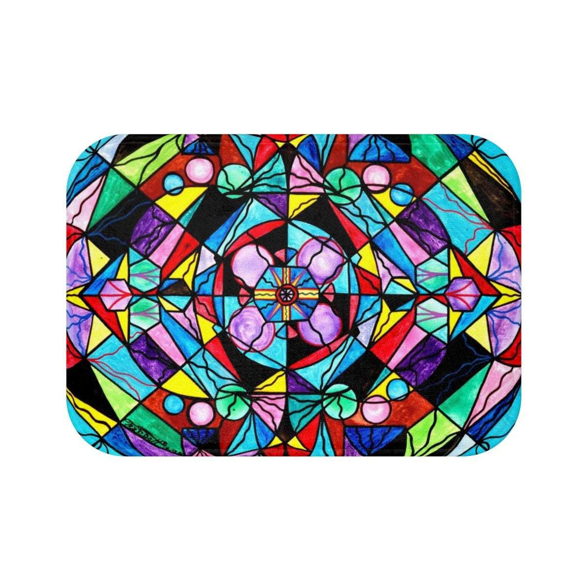 Sacred Geometry - Bath Mat