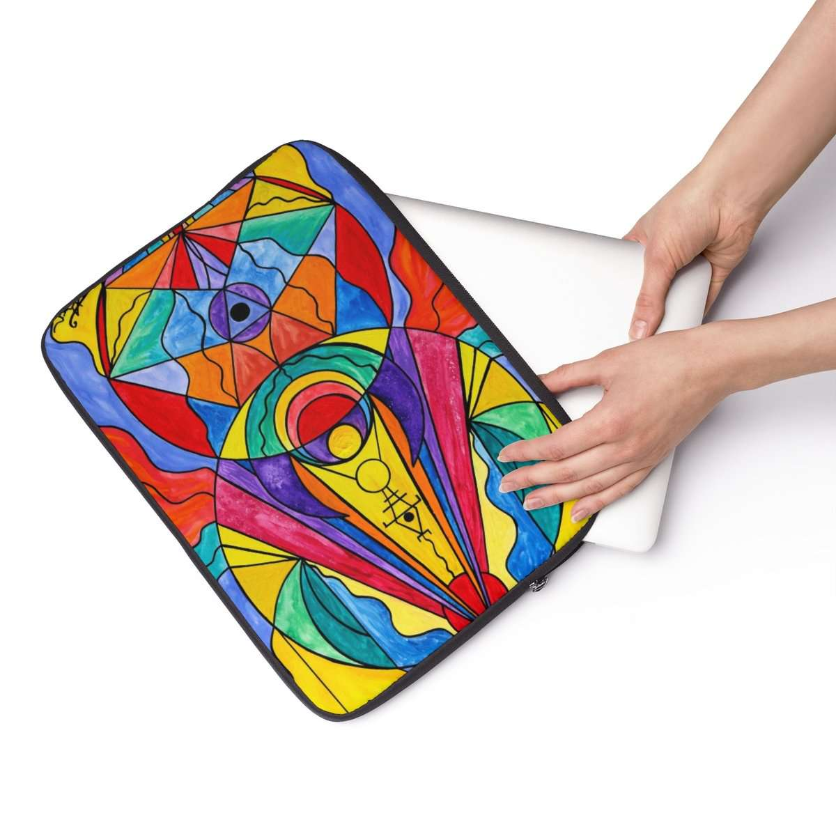 Arcturian Insight Grid - Laptop Sleeve