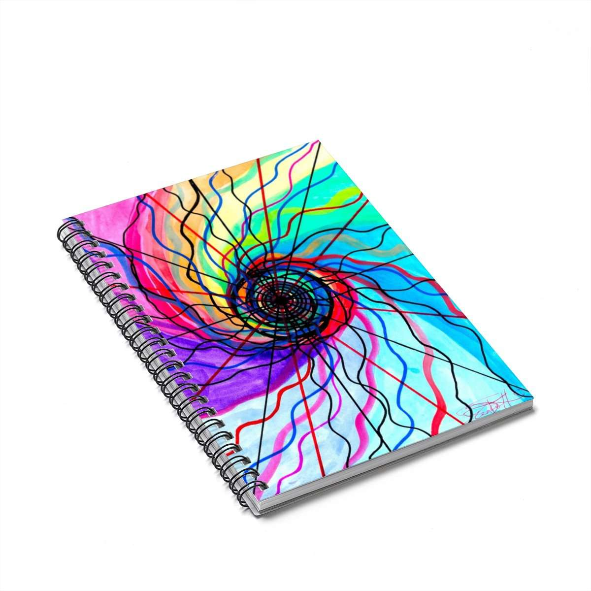 Convolution - Spiral Notebook