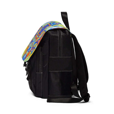 Happiness Pleiadian Lightwork Model - Unisex Casual Shoulder Backpack